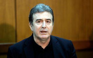 Ο υπουργός Υποδομών, Μεταφορών και Δικτύων Μιχ. Χρυσοχοΐδης.
