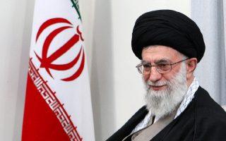 Ο ανώτατος ηγέτης της Ισλαμικής Δημοκρατίας Αγιατολάχ Αλί  Χαμενεΐ