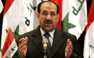 Ο πρωθυπουργός του Ιράκ, Αλ Μαλικί.