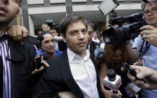 Ο υπουργός Οικονομίας της Αργεντινής Άξελ Κισίλοφ.
