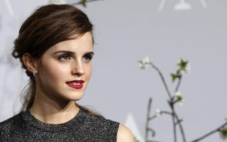 Presenter Emma Watson poses at the 86th Academy Awards in Hollywood, California in this file photo from March 2, 2014. The United Nations' gender equality body UN Women July 8, 2014 appointed British actress Watson, best known for her role as Hermione in the