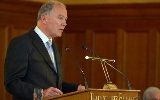 Ο πρώην διοικητής της Τράπεζας της Ελλάδος, κ. Γιώργος Προβόπουλος.