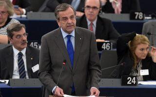 «Οι ναζί ήταν οι χειρότεροι τύραννοι που έχει ζήσει ο ελληνικός λαός», απάντησε ο πρωθυπουργός Αντώνης Σαμαράς στις προκλήσεις των ευρωβουλευτών της Χρυσής Αυγής, οι οποίοι του επιτέθηκαν στο Ευρωπαϊκό Κοινοβούλιο.