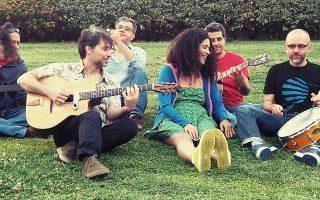 Η εκρηκτική Sugahspank παρέα με τους «ασυνήθιστους» τζαζίστες Swing Shoes επισκέπτονται απόψε τον Κήπο του Μεγάρου.