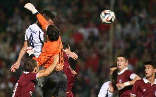 Ο Ατρόμητος έχει το προβάδισμα πρόκρισης μετά τη νίκη με 2-1 επί της Σεράγεβο στη Βοσνία.