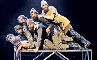 «Ιλιάδα», η τελευταία θεατρική παράσταση που σκηνοθέτησε ο Στάθης Λιβαθινός.