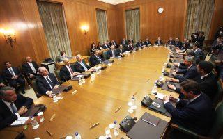 Ο κ. Σαμαράς ζήτησε από τους υπουργούς να ενημερώσουν τον γραμματέα του Υπουργικού Συμβουλίου για τις ημερομηνίες κατά τις οποίες θα απουσιάσουν.