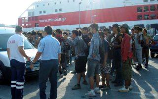 Η περιοχή όπου έγινε η επίθεση βρίσκεται κοντά στο λιμάνι, όπου συγκεντρώνονται αλλοδαποί.