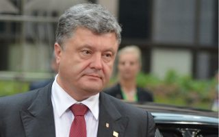 «Θέλουμε την ειρήνη, όχι τον πόλεμο», όμως «βρισκόμαστε πολύ κοντά στο σημείο χωρίς επιστροφή», τόνισε ο πρόεδρος της Ουκρανίας, Πέτρο Ποροσένκο, κατά διάρκεια κοινής συνέντευξης τύπου στις Βρυξέλλες με τον επικεφαλής της Κομισιόν, Ζοζέ Μανουέλ Μπαρόζο.