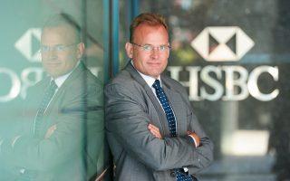 Ο διευθύνων σύμβουλος της HSBC στην Ελλάδα Στιβ Μπάνερ.