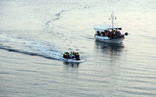 Τον περασμένο Ιούλιο οι ελληνικές αρχές συνέλαβαν 4.175 μετανάστες που είχαν εισέλθει διά θαλάσσης μέσω της Τουρκίας.