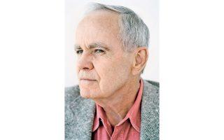 Ο Αμερικανός συγγραφέας Κόρμακ Μακ Κάρθυ.