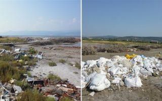 Η ρύπανση που προκαλεί η συστηματική απόρριψη σκουπιδιών κοντά στην ακτή θα μεταφερθεί μοιραία στη θάλασσα, με ανυπολόγιστες συνέπειες. Το πάθημα του 2009 με τα χιλιάδες νεκρά ψάρια στον Μαλιακό Κόλπο φαίνεται ότι δεν έγινε μάθημα στους κατοίκους της ευρύτερης περιοχής.