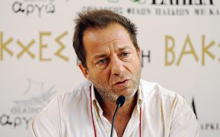 Ο ηθοποιός και σκηνοθέτης Δημήτρης Λιγνάδης είναι ο καλλιτεχνικός διευθυντής του «Πάνθεον», του νέου χώρου θεαμάτων της οδού Πειραιώς.