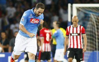 Η Νάπολι έμεινε στο 1-1 με την Μπιλμπάο του Βαλβέρδε στην Ιταλία.