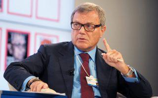 Οι συνολικές αποδοχές του Μάρτιν Σόρελ, επικεφαλής της εταιρείας μάρκετινγκ WPP, ήταν κατά 800 φορές μεγαλύτερες από εκείνες των υπαλλήλων του. Το 2013 έλαβε 31,2 εκατ. ευρώ