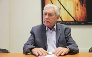Ο εκπρόσωπος της ΔΗΜΑΡ διέψευσε τα δημοσιεύματα περί αποχώρησης του Φ. Κουβέλη από την ηγεσία του κόμματος.