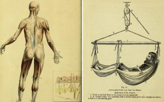 Σελίδες των βιβλίων «A Manual of the Dissection of the Human Body» του Luther Holden (1851), «The surgeon's pocket-book» του J. H. Porter (1875) και «Hand-book of Physiology» του William Senhouse Kirkes (1860). Από τη συλλογή της Wellcome Library, η οποία ψηφιοποιεί 15 εκατ. σελίδες ιατρικών βιβλίων και συγγραμμάτων του 19ου αιώνα.