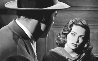 Η Τζιν Τίρνεϊ σε μια σκηνή από την ταινία «Λάουρα», που ήταν ένας μικρός θρίαμβος για τον σκηνοθέτη Οτο Πρέμινγκερ.