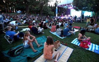 Οι υπαίθριες συναυλίες θα είναι σε λίγο παρελθόν. Η φωτογραφία από τις εκδηλώσεις στον κήπο του Μεγάρου Μουσικής Αθηνών.