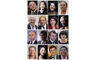 Τα πορτρέτα των μελών του νέου υπουργικού συμβουλίου είναι –ως επί το πλείστον– γνώριμα από προηγούμενη θητεία τους ή από την πολιτική τους παρουσία. Στην εικόνα των υπουργών, που δεν περιλαμβάνει υφυπουργούς, οι γυναίκες είναι όσοι και οι άνδρες.