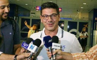 Με την υπόσχεση ότι η Εθνική θα τα δώσει όλα στην Ισπανία, ο Φώτης Κατσικάρης και η ομάδα αναχώρησαν για τη Σεβίλλη.