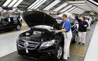 Το γερμανικό ΑΕΠ μειώθηκε κατά 0,2% το δεύτερο τρίμηνο του έτους.