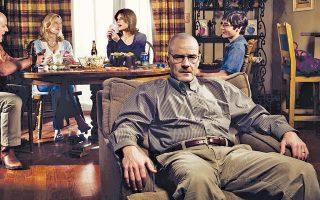 Το «Breaking Bad», που φέτος ολοκλήρωσε τον πέμπτο και τελευταίο κύκλο του, επιβεβαίωσε τις προβλέψεις.