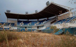 Το γήπεδο του σόφτμπολ στο Ελληνικό παραμένει αναξιοποίητο.