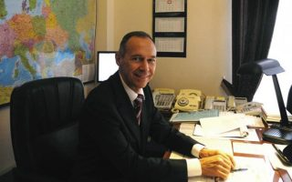 Ο πρέσβης της Ρωσίας στην Ελλάδα κ. Αντρέι Μασλόφ.