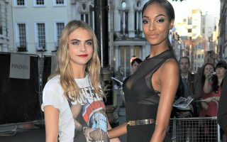 Cara Delevingne and Jourdan Dunn Glamour Magazine Women Of The Year Awards 2013 - Outside Arrivals London, England - 04.06.13