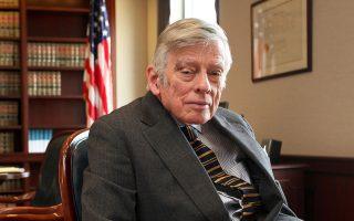 Ο Αμερικανός δικαστής Τόμας Γκρίεζα.