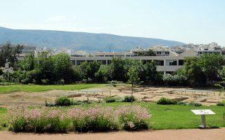 Ο αρχαιολογικός χώρος του Λυκείου του Αριστοτέλη που άνοιξε επίσημα τον Ιούνιο.
