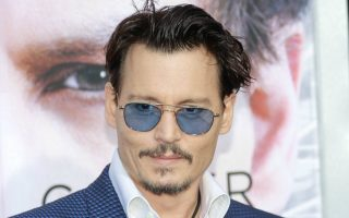 Johnny Depp at the Warner Brothers Pictures premiere of