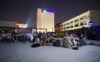 Καλοκαιρινά βράδια στον θερινό κινηματογράφο της παλιάς «Λαΐδος», στη συμβολή της Ιεράς Οδού με τη Μεγάλου Αλεξάνδρου στον Κεραμεικό.