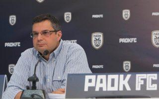 Τη βεβαιότητά του ότι ο Κλάους Αθανασιάδης θα υπογράψει το νέο του συμβόλαιο στον ΠΑΟΚ εξέφρασε ο κ. Αγγελίδης.