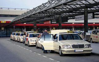 Βάσει της γερμανικής νομοθεσίας, οι οδηγοί ταξί χωρίς επαγγελματική άδεια, δηλαδή ιδιώτες, μπορούν να μεταφέρουν επιβάτες εάν δεν χρεώνουν περισσότερα από το λειτουργικό κόστος της διαδρομής. Η Uber, ως μεσάζων που συνδέει οδηγούς και επιβάτες, μπορεί να λαμβάνει προμήθεια από την όποια χρέωση, κάτι που κρίθηκε παράνομο από το δικαστήριο της Φρανκφούρτης.