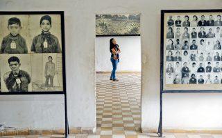 Το μουσείο των θυμάτων των Ερυθρών Χμερ στη φυλακή-κολαστήριο του Τιόλ Σλενγκ.