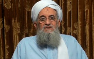 Τη δημιουργία πτέρυγας της Αλ Κάιντα στην Ινδία ανακοίνωσε μέσω μαγνητοσκοπημένου μηνύματος ο Αϊμάν αλ Ζαουάχρι.
