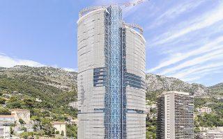 Το ρετιρέ του πύργου Tour Odeon, που κατασκευάζεται κοντά στην παραλία του Μονακό, συνολικής επιφάνειας 3.300 τ.μ., πωλείται έναντι του ιλιγγιώδους ποσού των 300 εκατ. ευρώ, δηλαδή σχεδόν 91.000 ευρώ/τ.μ.!