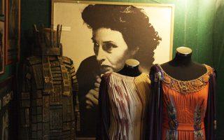 Το καμαρίνι της Κατίνας Παξινού στο Θεατρικό Μουσείο της οδού Ακαδημίας.