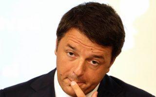 Οταν ανέλαβε την πρωθυπουργία της Ιταλίας, τον περασμένο Φεβρουάριο, ο κ. Ρέντσι υποσχέθηκε να αποκαταστήσει την ανάπτυξη στη χώρα. Μέχρι στιγμής δεν φαίνεται να τα έχει καταφέρει.