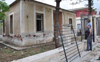 Το σπίτι του ποιητή Νίκου Καρούζου (1926 - 1990) στο Ναύπλιο.