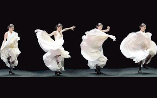 Είναι η πρώτη φορά που εμφανίζεται στην Ελλάδα η ομάδα της Ισπανίδας χορογράφου Sara Baras.