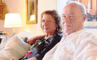 Η Μπάρμπαρα Χόφμαν και ο Τιλ Στέρτσενμπαχ διάλεξαν εδώ και χρόνια την Ελλάδα για βάση τους.