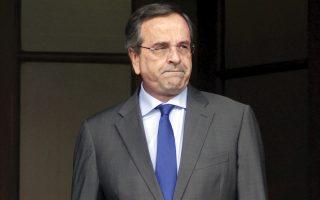 Ο πρωθυπουργός Αντώνης Σαμαράς αναζητεί τρόπους επανεκκίνησης της πολιτικής αντεπίθεσης της κυβέρνησης.