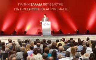 Ο κ. Αλ. Τσίπρας,  από το βήμα της ΔΕΘ, έκανε λόγο για κάλυψη των άμεσων αναγκών εκείνων που βρίσκονται κάτω από το όριο της φτώχειας, ενώ καλλιέργησε προσδοκίες για μείωση της ανεργίας.