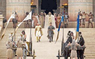 Το βιβλικό έπος «Εξοδος: θεοί και βασιλιάδες» είναι το μεγάλο στοίχημα του Ρίντλεϊ Σκοτ, αλλά και ένα blockbuster που το περιμένουν ως μάννα εξ ουρανού στο Χόλιγουντ.