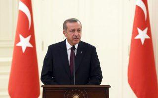 Ο Τούρκος πρόεδρος Ρετζέπ Ταγίπ Ερντογάν.