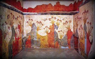 Σαράντα επτά ολόκληρα χρόνια μετά την ίδρυσή του από τον Σπύρο Μαρινάτο, το εργαστήρι συντήρησης των τοιχογραφιών στο Ακρωτήρι της Θήρας έπαυσε τη λειτουργία του, ελλείψει πόρων.